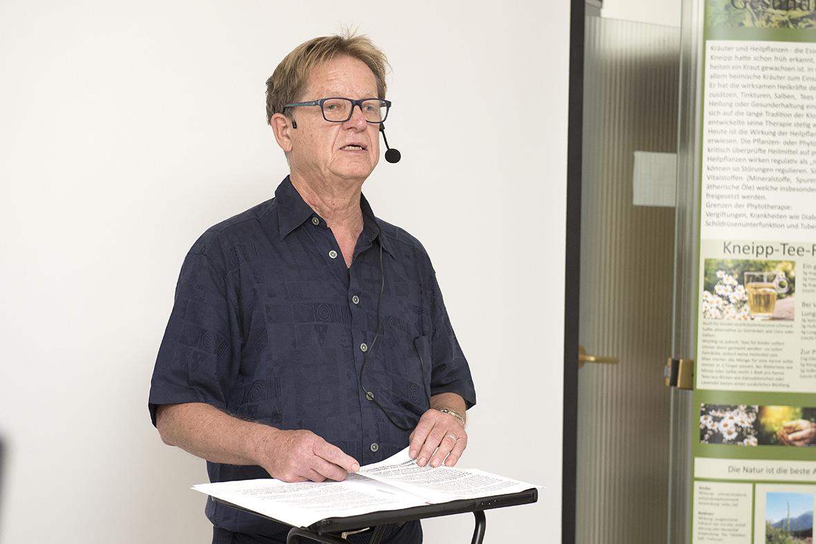 Bernd Wulfram, 1.Vorsitzender