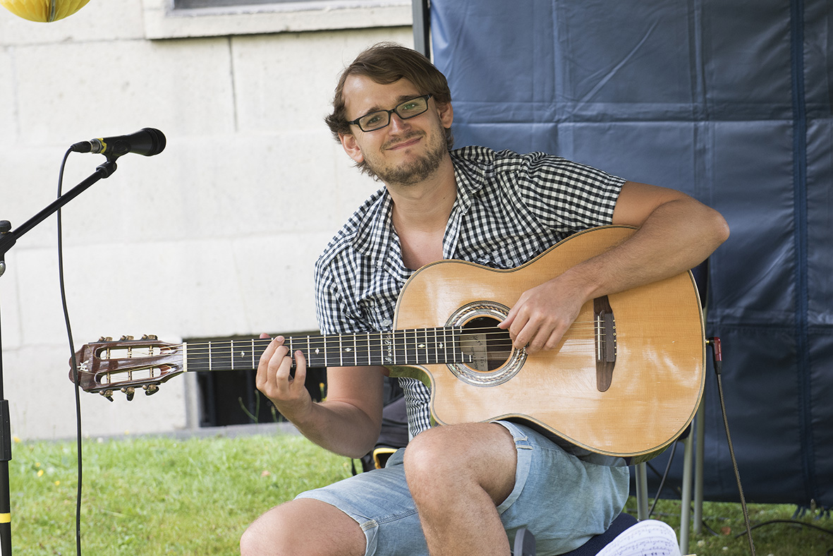 Gitarrist Marius Peters